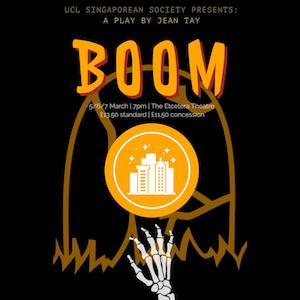 UCLSS presents: Boom a play by Jean Tay